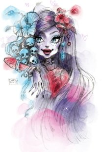 Gloom Bloom Jane Boolittle Monster High